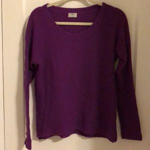 Purple Madewell sweater